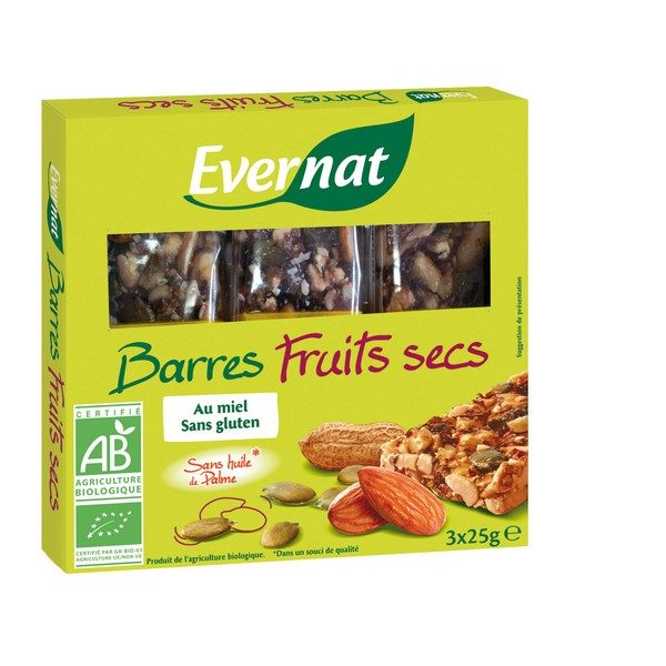 3003960 BARRES FRUITS SECS