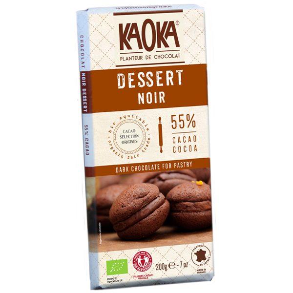 kaoka-tablette-chocolat-noir-dessert-55-200g